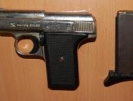 Conseguir una pistola ilegal es fácil en Madrid