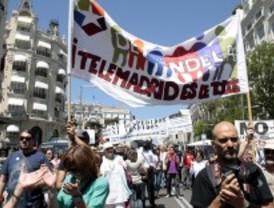 Trabajadores de Telemadrid protestan debido a los recortes de plantilla