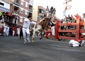 Encierro en las fiestas de San Sebastián de los Reyes