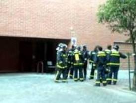 Incendio de un garaje en Valdebernardo