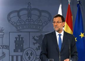 Mariano Rajoy durante una comparecencia