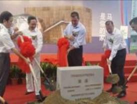 Madrid pone la primera piedra de su pabellón para la Expo de Shanghai 2010