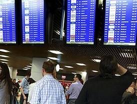 Continúan las cancelaciones en Barajas