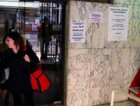 La huelga de funcionarios agrava los retrasos antes del paro de los jueces