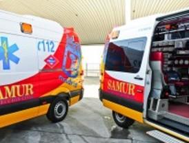 Heridos graves al chocar con un autobús