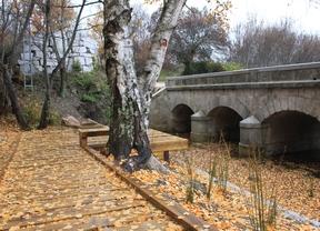Puente de la Mina, en Bustarviejo, restaurado