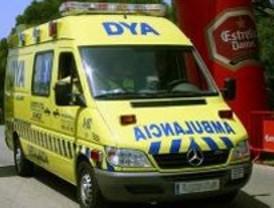 En estado muy grave un ciclista tras ser atropellado por un coche en la M-421