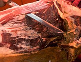 Aperitivo de jamón ibérico en 'Degusta Madrid'