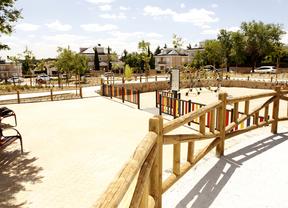 La Marazuela estrena nuevo parque, en Las Rozas