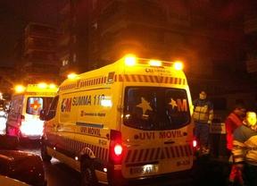 Un incendio en un edificio de Alcorcón deja cuatro heridos