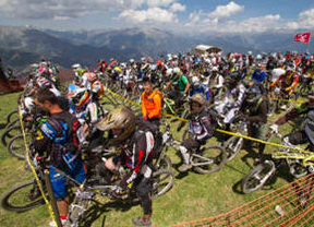Maxiavalanche Europ Cup - Vallnord Bike Park