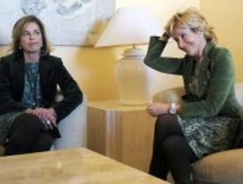 Aguirre y Botella apuestan por los 'docklands' de Madrid
