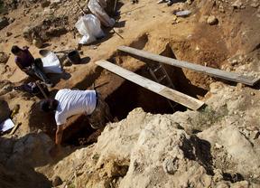 Jornada de puertas abiertas en la excavación de Pinilla del Valle