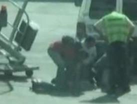 Agresión policial a un senegalés en Barajas