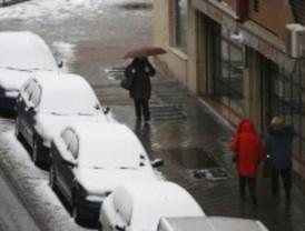 Alerta por nieve en la sierra este domingo