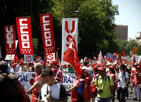 Miles de personas piden en Madrid a la UE que abandone la austeridad