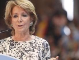 Aguirre no aclara si bajará el IRPF en Madrid