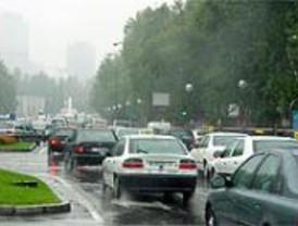 La lluvia triplica el número de accidentes de tráfico