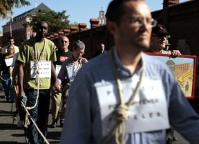 Manifestación por el cierre del CIE de Aluche.