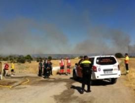 Controlado el incendio de Las Rozas