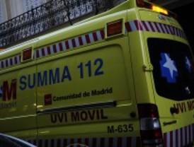 Herido grave un motorista al chocar con un coche en Torrejón de la Calzada