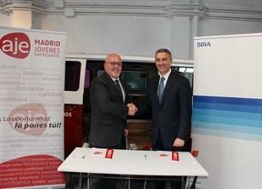 BBVA firma un convenio de apoyo a jóvenes empresarios madrileños