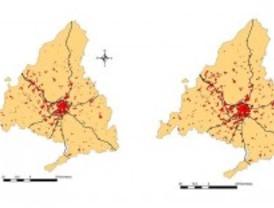 Los noventa fueron la década de mayor dispersión urbana de la Comunidad de Madrid