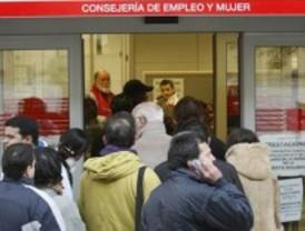 El paro subió en 5.666 personas en febrero en Madrid, un 1,19 por ciento