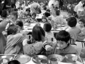 Los comedores escolares madrileños, entre los más caros