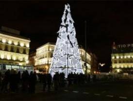 Madrid sólo tendrá dos árboles de Navidad gigantes