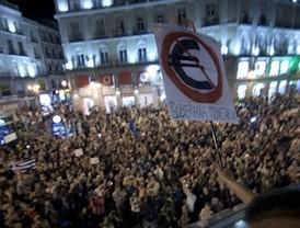 Las cacerolas del 'Global Noise!' se oyen en Madrid