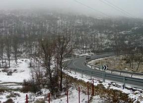 La nieve podría alcanzar los 10 centímetros en la sierra
