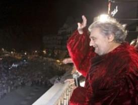 El Teatro Real vibra con Plácido Domingo