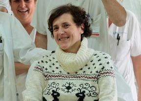 Teresa Romero sale del hospital Carlos III al superar el ébola.