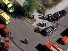 Nueve intoxicados y 60 atendidos por un escape de cloro en Tres Cantos