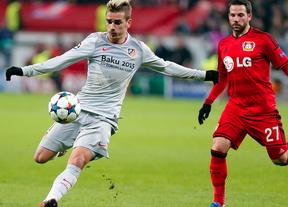 El Atlético se complica la vida en Leverkusen