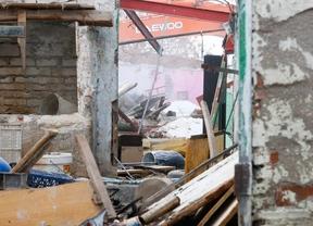 La Policía de Getafe desmantela un intento de asentamiento ilegal de chabolas en Perales del Río