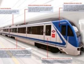 Metro mejora los trenes de la línea 9