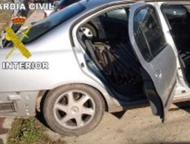 Detenidos tras una peligrosa persecución con 400 kilos de cobre robados en la vía del AVE