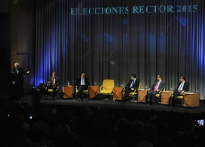 La financiación centra el debate de los cinco candidatos a rector de la UCM