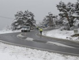 La nieve llega a Navacerrada
