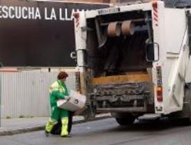 Primeras mujeres en el servico de recogida de basura