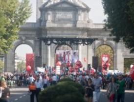 La plataforma Derecho a Vivir reclama en la calle el 'aborto cero'