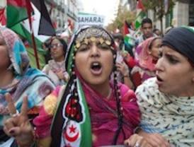 5.000 manifestantes se reúnen frente a la sede del Ministerio de Asuntos Exteriores bajo el lema