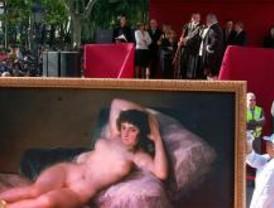 Goya se pasea por Madrid