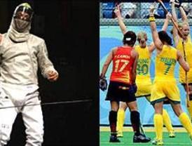 Jorge Pina logra el diploma olímpico en esgrima y las chicas de hockey se complican