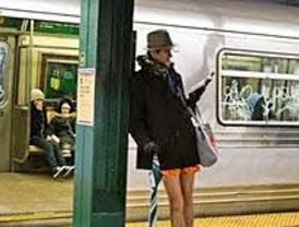 Una convocatoria para subir al metro en calzoncillos