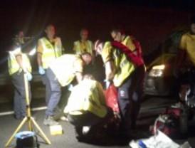 Fallece tras ser atropellado por una furgoneta