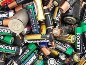 El 94% de las pilas no se reciclan, según el PSOE