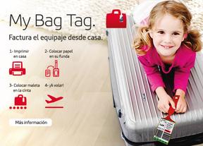 Iberia permite emitir la etiqueta para el equipaje a través de www.iberia.com para 10 destinos internacionales y vuelos en conexión